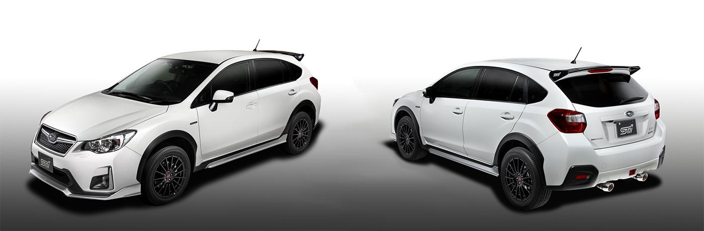 Subaru Xv(gp):パフォーマンスパーツ|sti